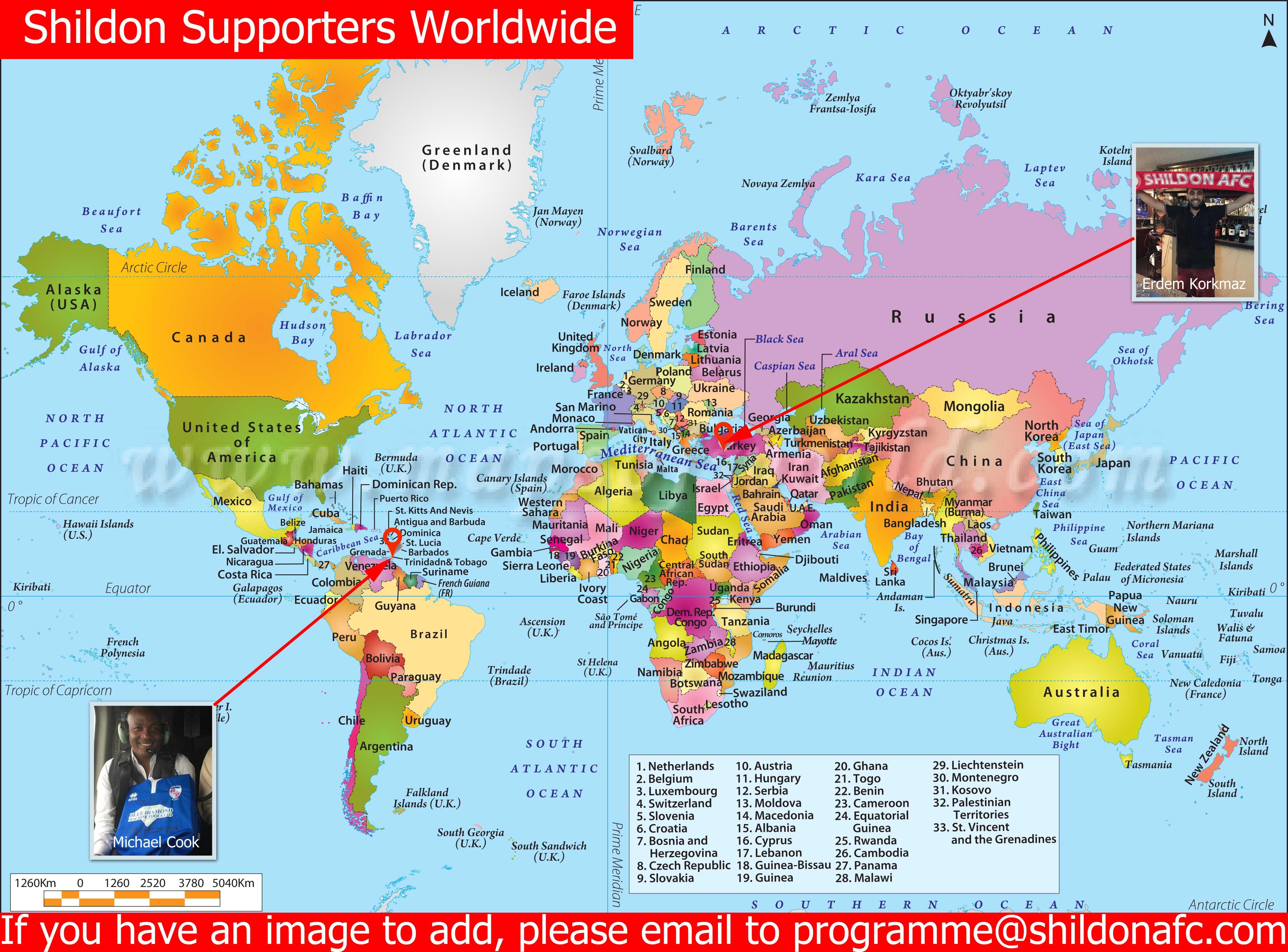 Picture of: Shildon Supporters Trinidad Tobago Shildon Afc Website