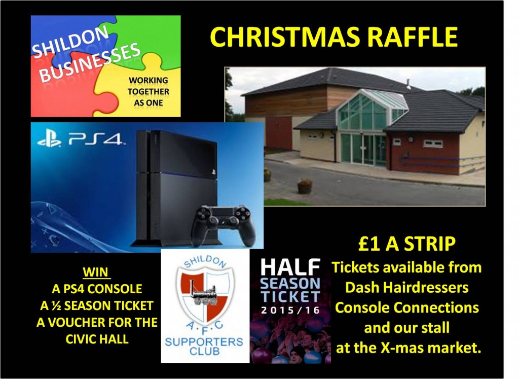 Shildon Businesses Christmas Raffle