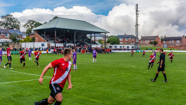 Photos from yesterdays FA Cup game against Altrincham ...